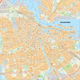 Amsterdam centrum en aangrenzende wijken_