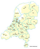 Veiligheidsregio's Nederland_