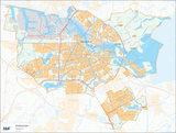Amsterdam, postcodekaart (4-cijferig)_