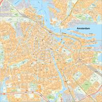 Amsterdam centrum en aangrenzende wijken