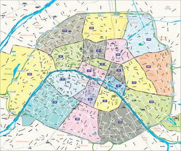 Parijs-arrondissementen