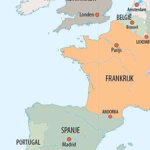 kaart van Europa (staatkundig)